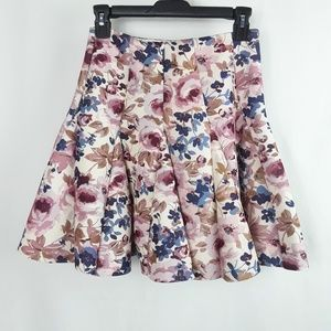 LC Lauren Conrad Skirts - EUC Lauren Conrad Runway Collection Floral Skirt